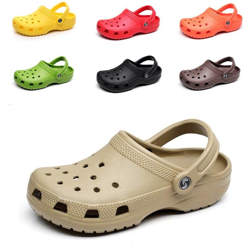 Slip Auf Casual Garten Clogs Wasserdichte Krokus Schuhe Frauen Klassische Pflege Clogs Krankenhaus Frauen Arbeiten Medizinischen Sandalen