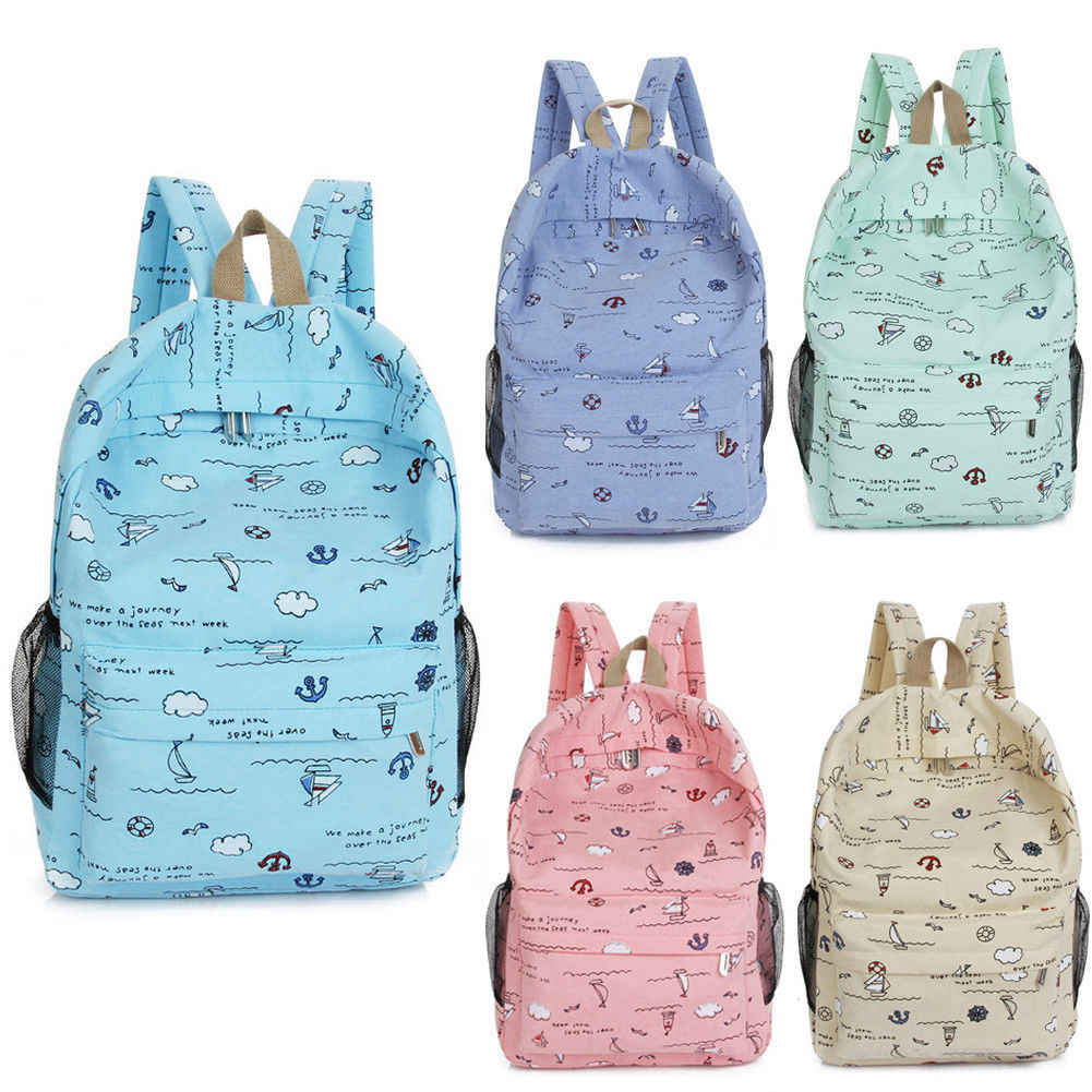 9089dc15c73 Detail Feedback Questions about Fashion Boys Girls Retro Backpack ...