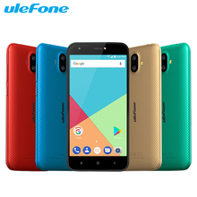 Оригинал Ulefone S7 мобильный телефон 5.0 дюймов Экран 2 ГБ Оперативная память 16 ГБ Встроенная память MTK6580A 4 ядра android 7.0 двойной камеры 2500 мАч смартфон