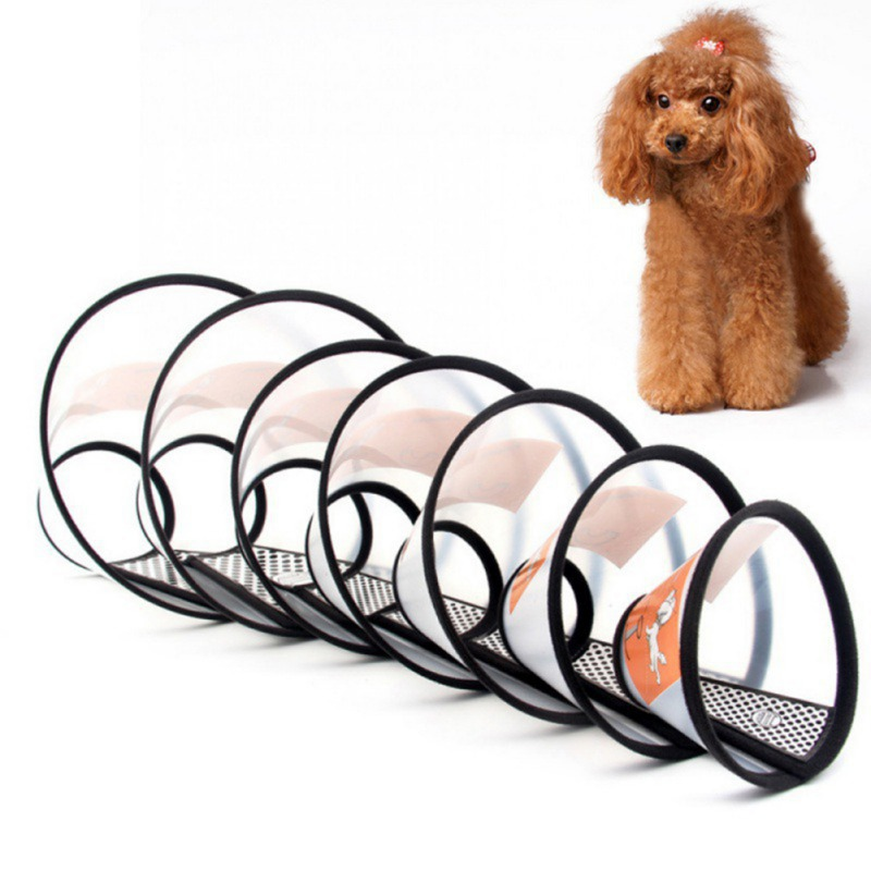 Pet Collar for Dogs Cats Puppy Dog Medical Cosmetology Bite Proof Collar Pet Grooming Feeding Accessories Dog Products