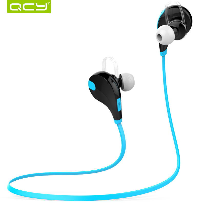 QCY QY7 wireless sports earphones bluetooth 4.1 EDR stereo headset with Mic