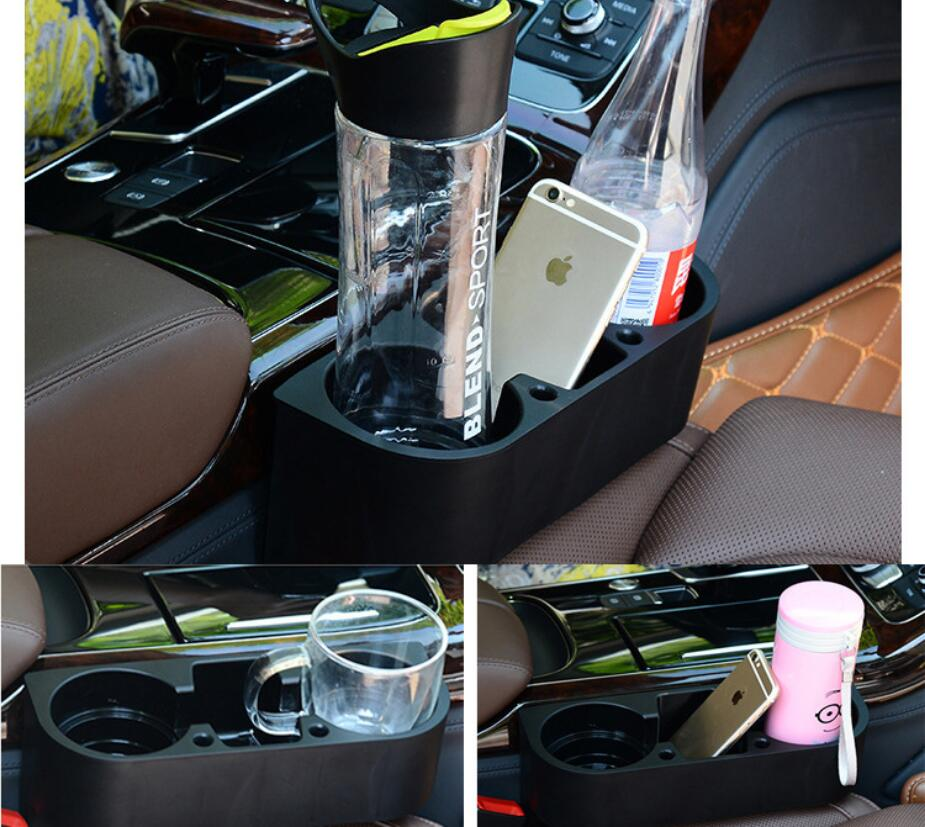 Auto Truck Car Seat Drink Cup Holder Valet Beverage Can Bottle Food Mount Stand Box Organizer Multifunction Vehicle Tool 3 color