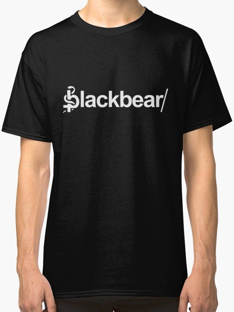 BlackBear Merchandise Mens T Shirt Black Summer Mens Print T-Shirt Cheap Sale 100 % Cotton Top Tee White Style