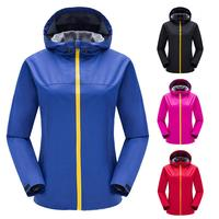 Men&Women Skin Single Layer Jackets Waterproof Anti UV Coats Outdoor Sports Clothing Camping Hiking Female Hooded Jacket