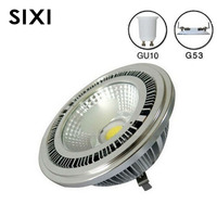 10w COB Led G53 AR111 Lamp AC85 265V GU10 AR111 Spotlight Warm White Cold White
