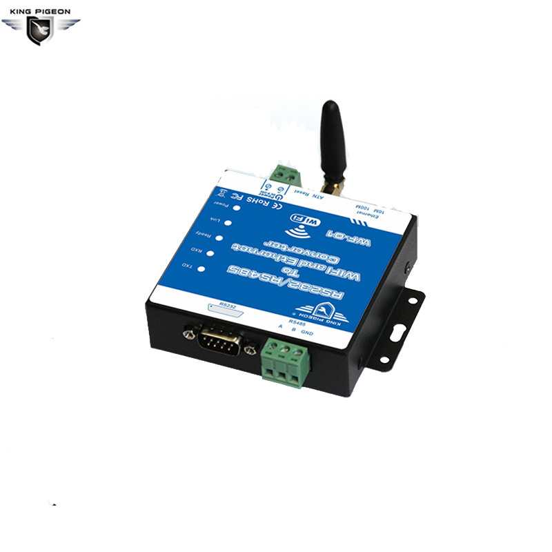 WF-01 RS232/485 To WIFI /Ethernet Converter Wireless Networking Router Date Transparent Transimission Webpage Configuration