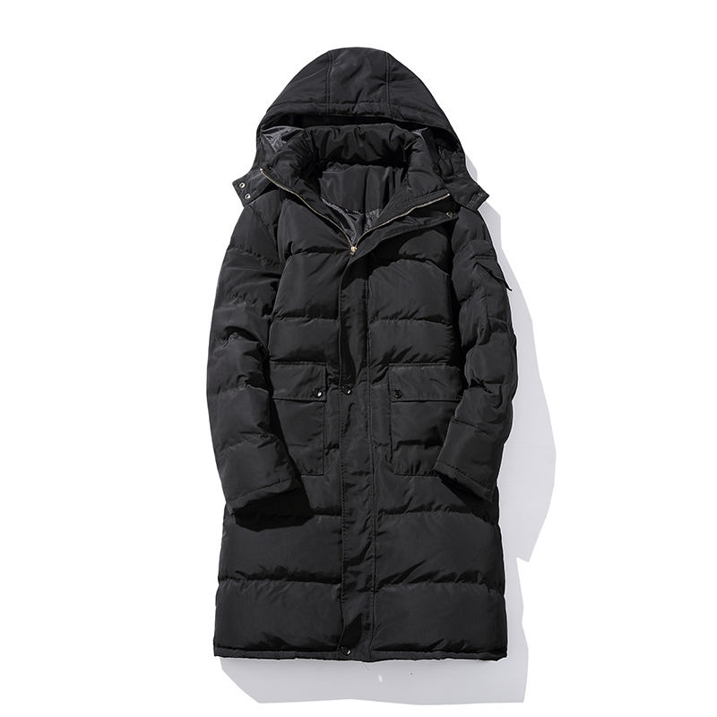 2016 winter Men s casual fashion hooded high quality jacket thick Parkas Men s winter jackets
