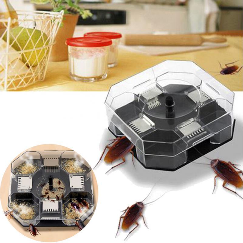Большой многоразовые автоматического таракан ловушка эффективное ошибки Ловец Catcher Борьба с вредителями Сейф экологически чистые Trap