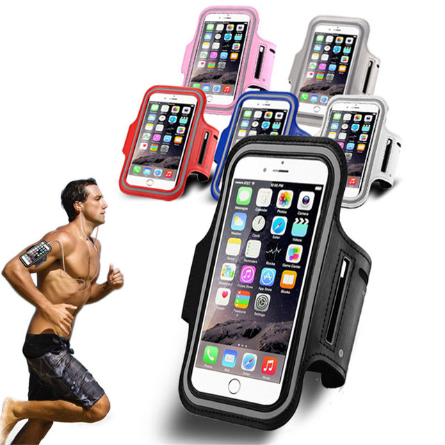Arm Band Case 5.5inch Waterproof Running Sport Armband For iPhone 7 Plus / 6s Plus Outdoor Gym Lether Phone Cover For iPhone