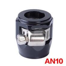 AN10 шланг финишер зажим/зажим 10-AN APS алюминиевый сплав топливо/масло/радиатор/резиновый топливный трубка для воды и масла юбилейный зажим