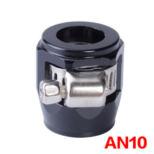 AN10 Hose Finisher Clamp/Clip 10-AN APS Aluminium Alloy Fuel/Oil/Radiator/Rubber Fuel Oil Water Pipe Jubilee Clip Clamp