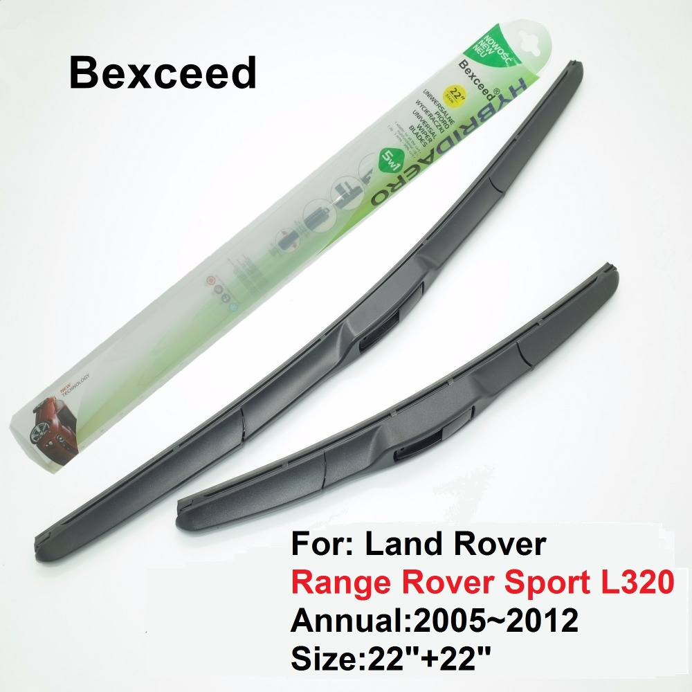 """1 Set 22""""+22"""" Bexceed of Car Windshield Hybrid Wiper Blade For Land Rover Range Rover Sport L320  2005~2012"""