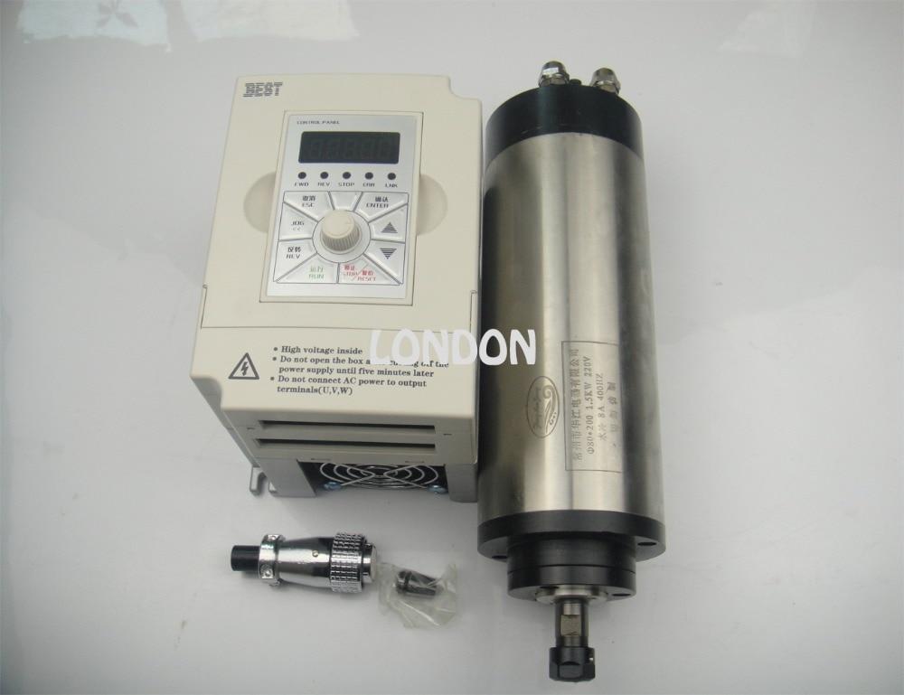 CNC اسپیندل کیت اسپیندل ER11 800w موتور - ماشین ابزار و لوازم جانبی