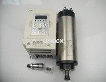 CNC Комплект шпинделя ER11 800 Вт шпиндель водяного охлаждения двигателя + 1.5KW инвертор