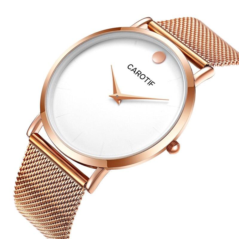 Carotif Luxury Waterproo Business Casual kwarcowe zegarki na - Męskie zegarki - Zdjęcie 2