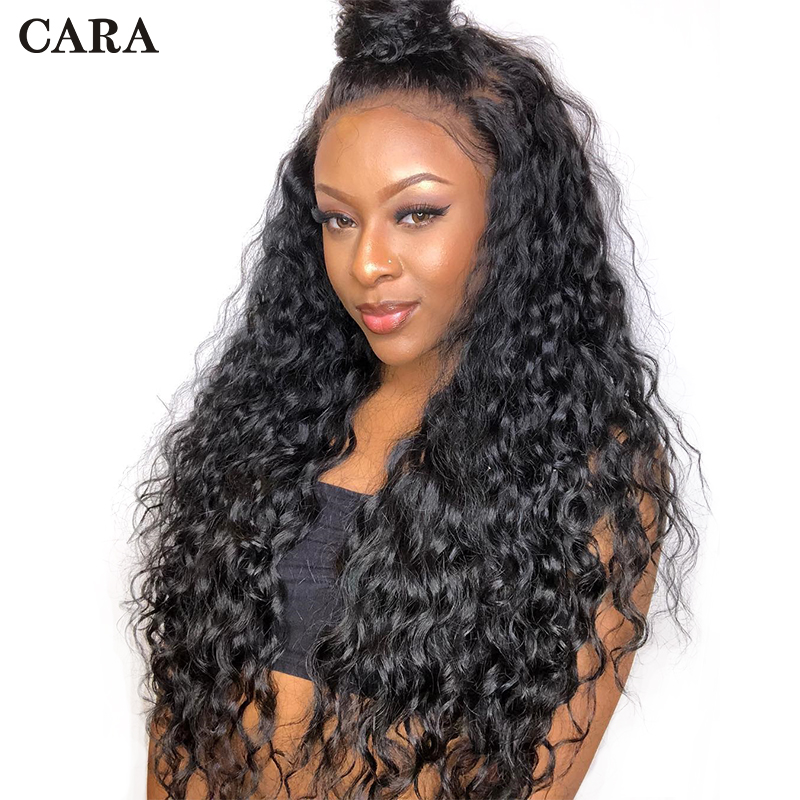 Pre Plucked Glueless Full Lace Human Hair Wigs With Baby Hair Loose Wave Wig 250% Density Brazilian Virgin Hair Lace Wig CARA