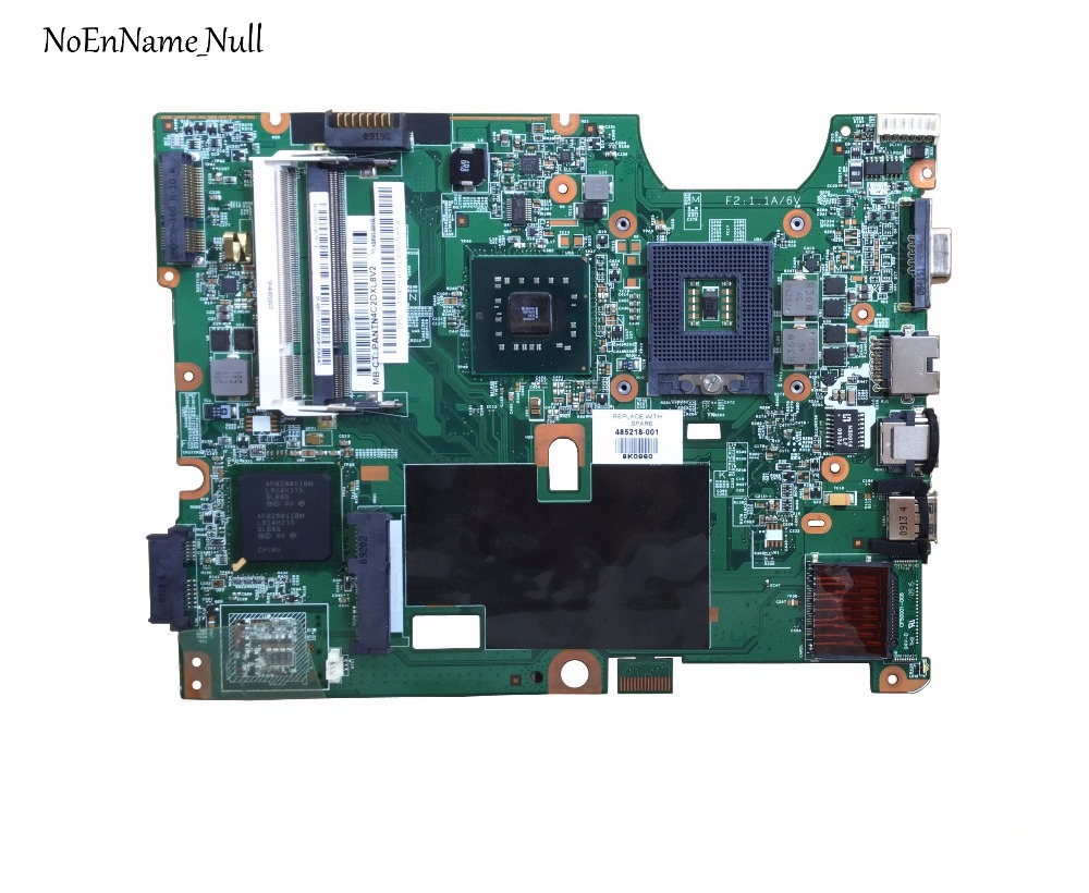 485218-001 Free Shipping 48.4H501.021 Laptop Motherboard For HP Pavilion CQ50 G50 G60 CQ60 Main Board GM45 DDR2 100% Test