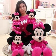 50cm Minnie mouse plush toys Mickey Mouse toys children's birthday present  1pcs minnie