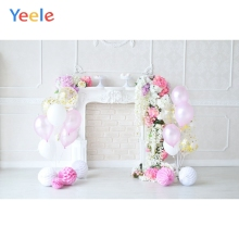 Yeele Interior Fireplace White Wall Baby Newborn Photography Backgrounds Personalized Photographic Backdrops For Photo Studio