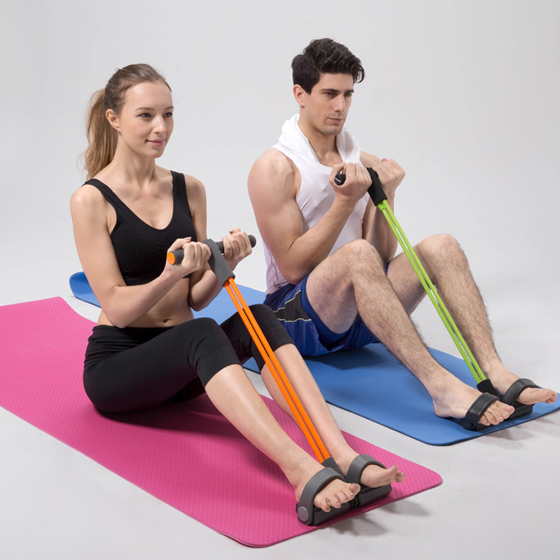 Neue Latex Widerstandstraining Bands Pull Up Body Trimmer Übung Pedal Exerciser Körper Fitness Crossfit Yoga Ausrüstung