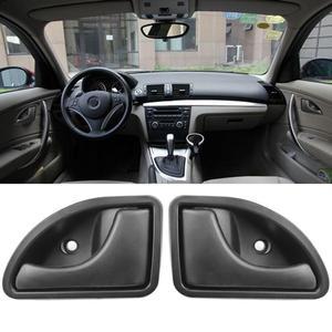 Image 2 - 2 Pcs/set Car Inner Handle Interior Door Panel Pull Trim Cover Black Left Right For RENAULT KANGOO TWINGO