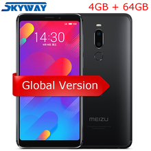 Resmi Küresel Sürüm Meizu M8 4 GB 64 GB V8 Cep Telefonu Helio P22 Octa Çekirdek 5.7 ''Ekran Çift arka Kamera 3100 mAh Parmak Izi
