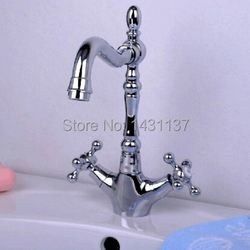 free shipping high quality brass material cross handle cold and hot chrome bathroom basin kitchen.jpg 250x250