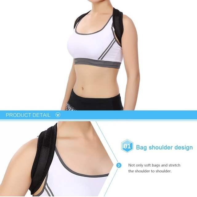 97df9fc5f91 placeholder Yosoo Adjustable Clavicle Posture Corrector Shoulder Brace  Upper Back Posture Correction Corset Spine Support Belt For
