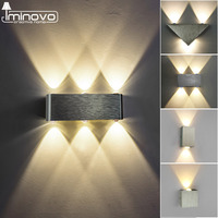 Modern Led Wall Lamp 3W 6W Wall Sconces Indoor Stair Light Fixture Bedroom Bedside Living Room