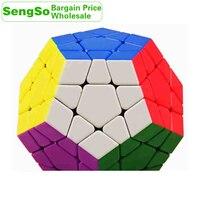 ShengShou Tank мегаминкс 3x3x3 кубик руб SengSo додекаэдр 3x3 оптом набор много 8PCS профессиональный Скорость куб головоломки антистресс Непоседа игрушк...