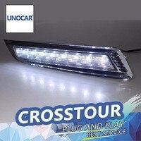 Car Styling Daytime Running Lights For Crosstour LED DRL 2012 2014 Crosstour LED Fog Light Front