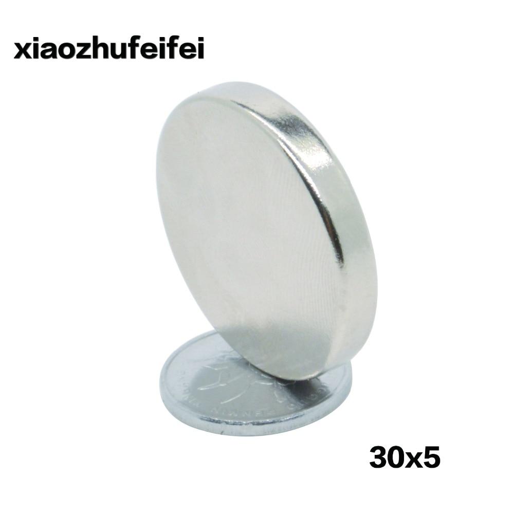 50 stücke Starke Dia. 30x5mm Wahre Rare Earth Neodym Scheibenmagnet 30*5mm 30mm x 5mm-in Magnetische Materialien aus Heimwerkerbedarf bei AliExpress - 11.11_Doppel-11Tag der Singles 1