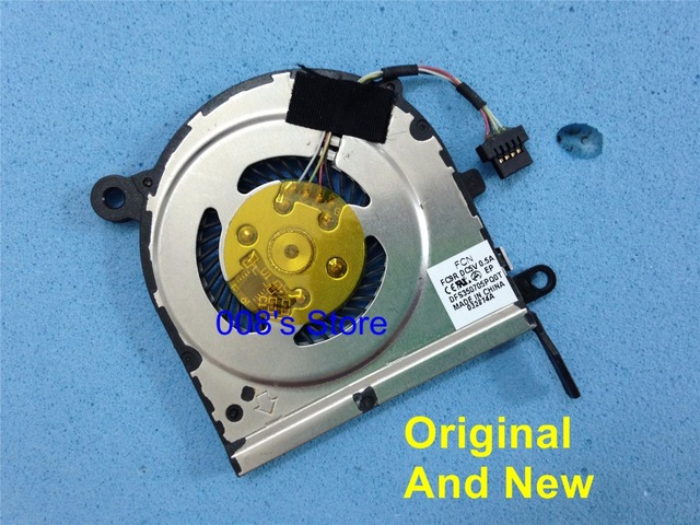 100% Original And New Notebook CPU Cooling Fan Fit For Acer Aspire P3-171 P3-171-6820 FORCECON FCN FC9R DC5V 0.5A DFS350705PQ0T