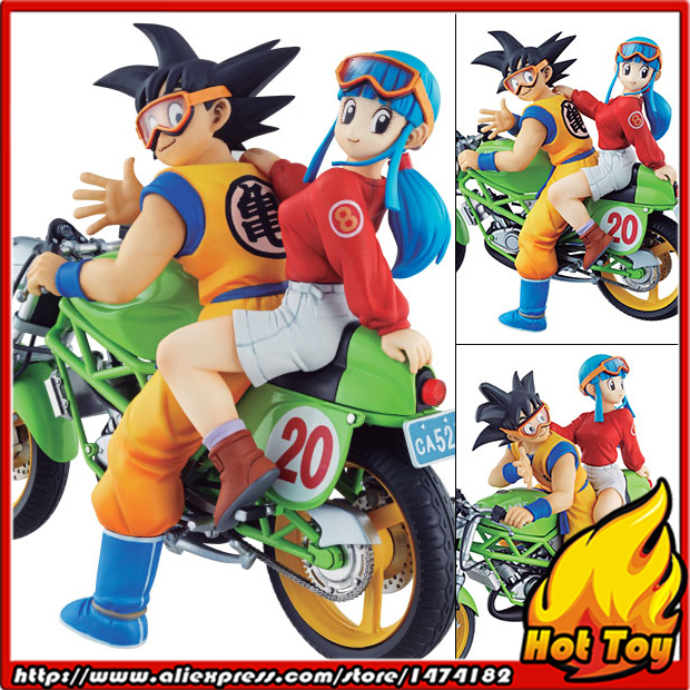 100% Original MegaHouse DESKTOP REAL McCOY Complete Figure - Son Goku & Chichi from Dragon Ball Z100% Original MegaHouse DESKTOP REAL McCOY Complete Figure - Son Goku & Chichi from Dragon Ball Z