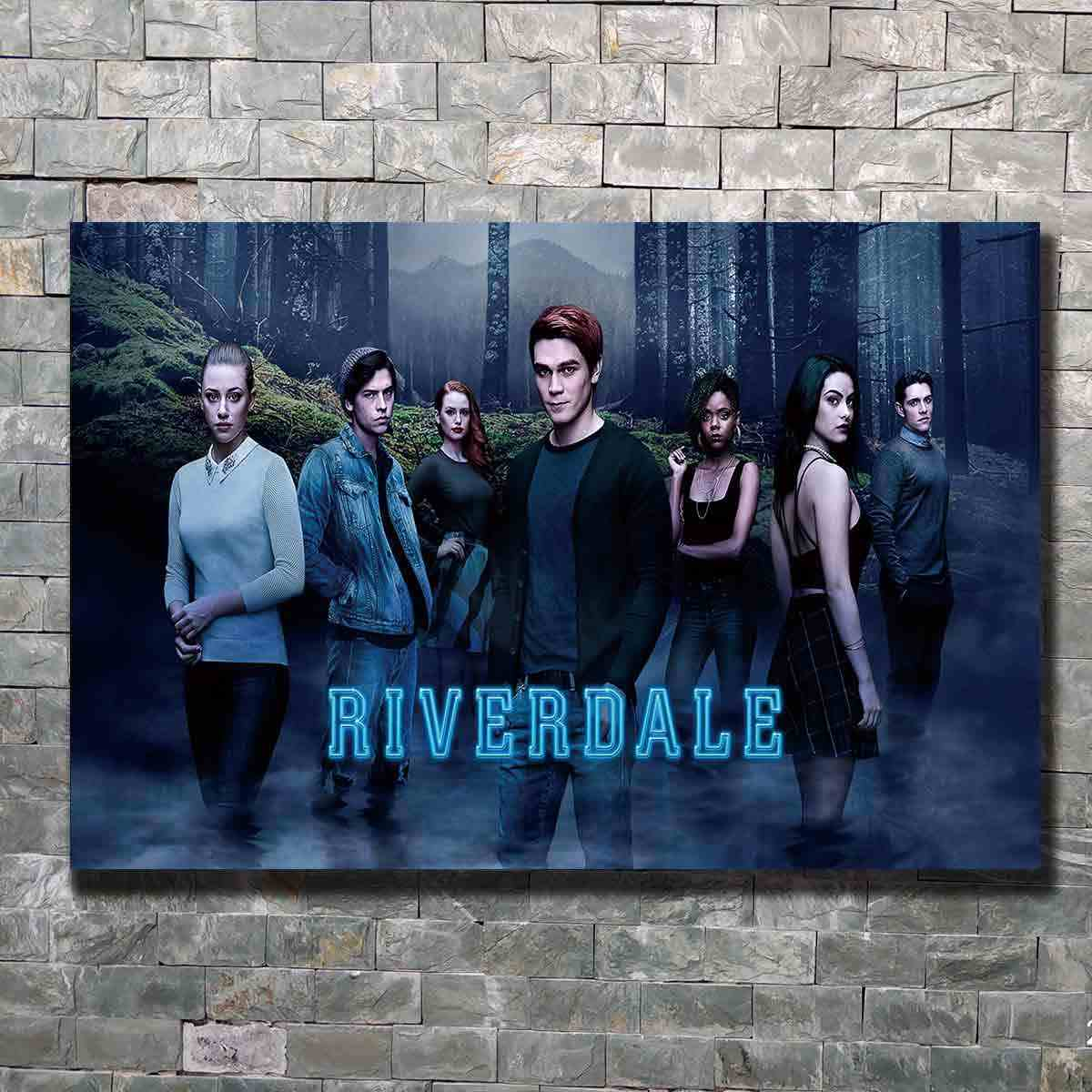 Art Poster Riverdale KJ Apa Crime Mystery USA Wall Canvas Print Modern painting Home Decor picture 14x21 12x18 24x36 27x40