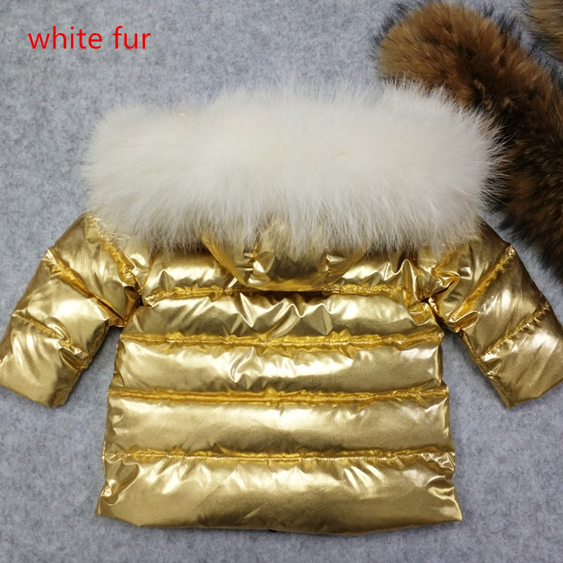 Custom Made Gold Silver Winter Children Down Coat Boys Girls Warm Hooded Jacket Outwear Clothes Kids Boys Parkas Snow Wear girl coats winter jackets kids outwear thick warm down jacket girls clothes parkas children baby girls feather jacket