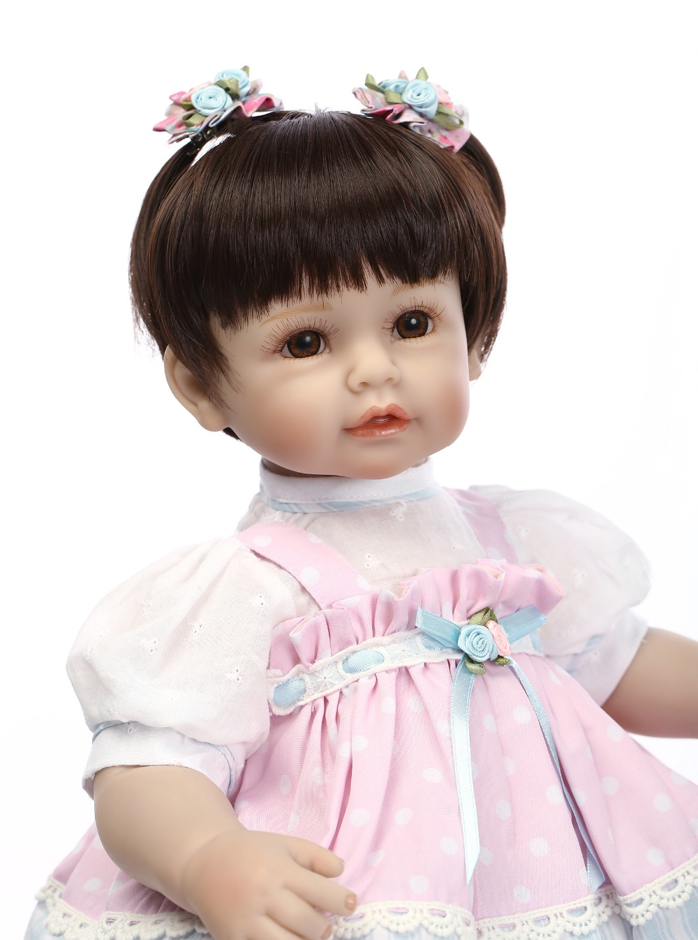 NPKCOLLECTION reborn doll with soft real gentle touch 22inch doll silicone vinyl lifelike newborn baby Christmas Gift baby alive npkcollection reborn doll vinyl silicone soft real gentle touch doll beautiful gift for kis on birthday and christmas