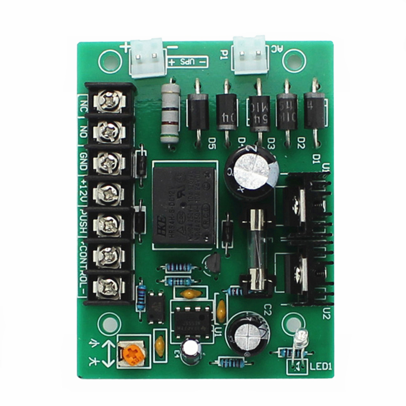 Professional Access Controller Chassis Circuit Board Generic DC12V 3A 5A RFID Door Lock Access Control System UPS Power Supply