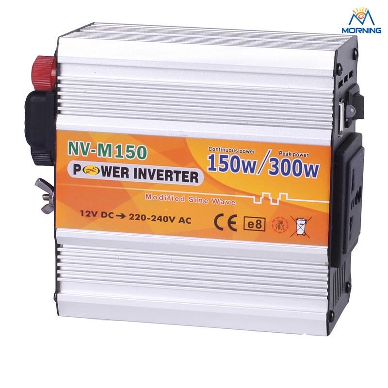 ФОТО Free shipping M150 150W modified sine wave inverter solar power system