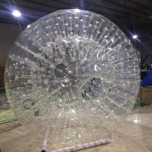 Water pvc inflatable zorb ball in the meadow inflatable walking ball sports ball grass ball