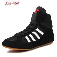 Боксерские туфли с высокой талией для мужчин и женщин дышащие