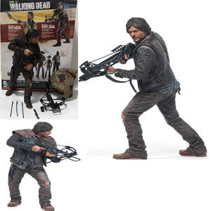 25cm NEW Hot The Walking Dead Figure Daryl Dixon Action Figures Collection Toys Gift for Children