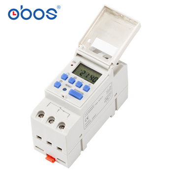 Astronomical programmable time switch BS26W AC220V programmable digital time switch 16A sunrise sunset change following timer