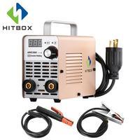 HITBOX Welding Machines ARC Welding Tools Mini ARC200 Portable Size 220V Full Standard Accessories