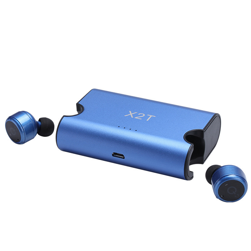 X2T Wireless Bluetooth Headset Fone de ouvido Invisible Earphones for iphone X 8 7 xiaomi huawei Auriculare with Charging Case s9 sport bluetooth headsets wireless earphones fone de ouvido bluetooth headphones headset audifonos for xiaomi for iphone