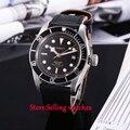 41mm Corgeut Sapphire Glass Rose Gold Mark Japan Miyota Automatic Men Watches