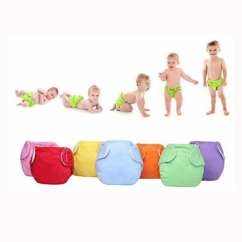 7 Pcs Cloth Diaper/Children Cloth Diaper/Reusable Nappies/Adjustable Diaper Cover/Washable Training Pants For Baby I Ctrx0017