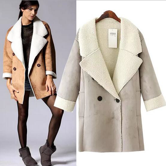 Sheepskin Womens Jacket - Coat Nj