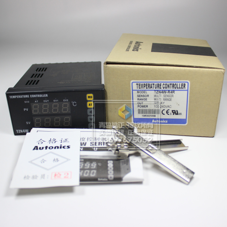 thermostat  [original authentic] Autonics temperature controller TZN4W-R4Rthermostat  [original authentic] Autonics temperature controller TZN4W-R4R