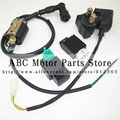 50cc 70cc 90cc 110cc Electric start Engine Ignition Coil and 5 pin CDI  Relay and Half-Wave Rectifier dirt bike pit bike ATV